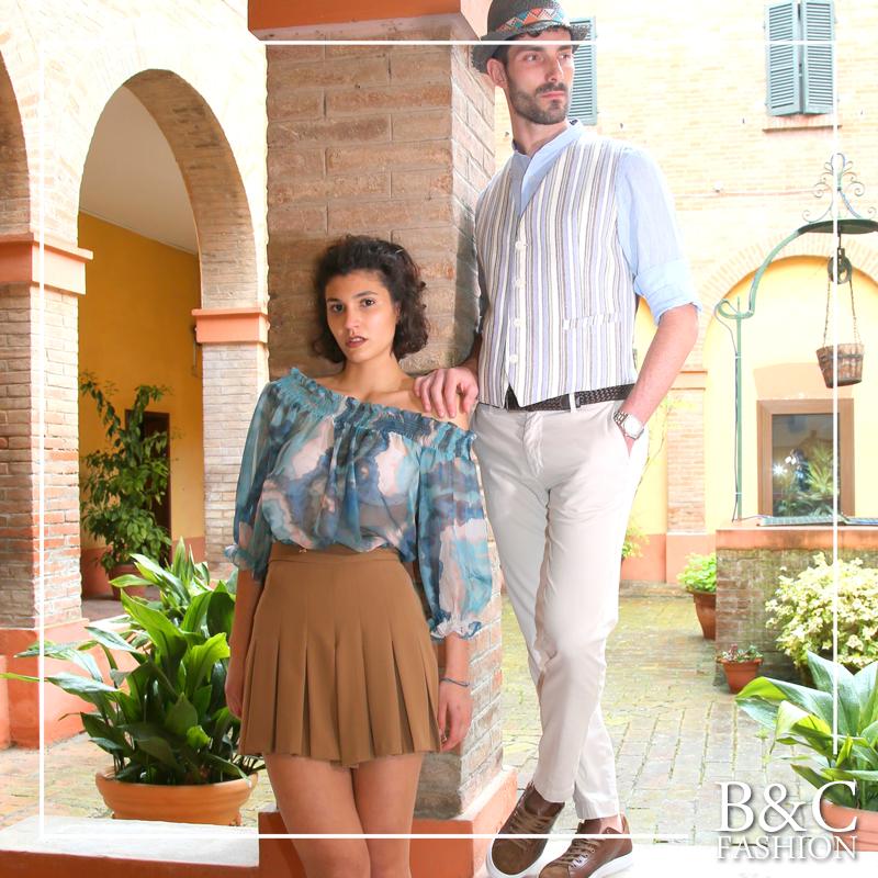 SUMMER is a state of mind ☀️ </br>B&C Fashion veste la tua estate!